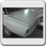 Ford Taunus P5 Heckrestauration